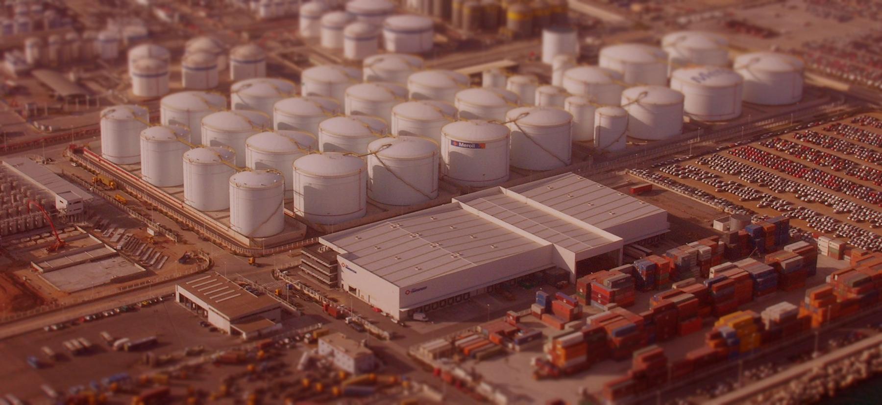 parques de tanques de almacenamiento de hidrocarburos